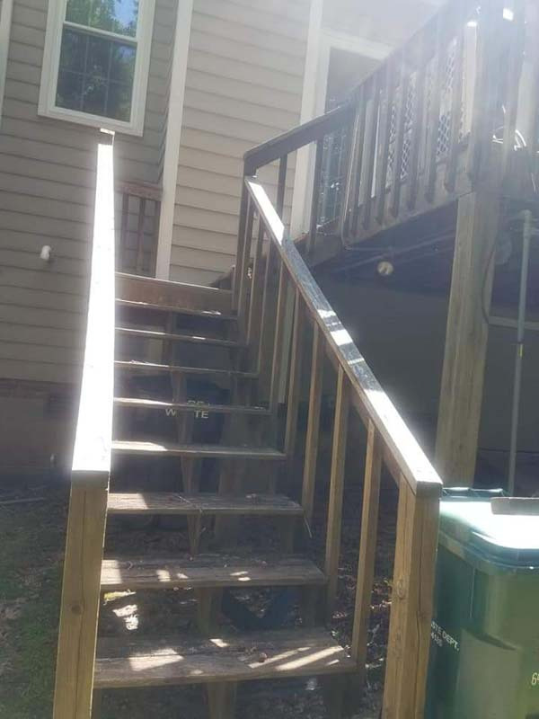 deck repair cary nc